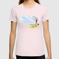 Lighthouse Impressions Womens Fitted Tee Light Pink SMALL