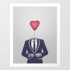 Mr. Valentine Art Print
