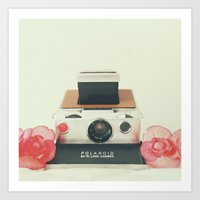 Polaroid Memories Art Print