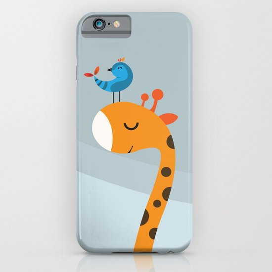 Orange And Blue iPhone & iPod Case
