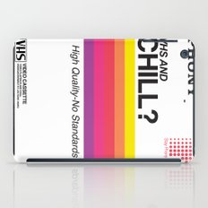 VHS and Chill iPad Case