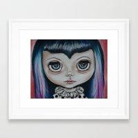Baby Vamp Framed Art Print