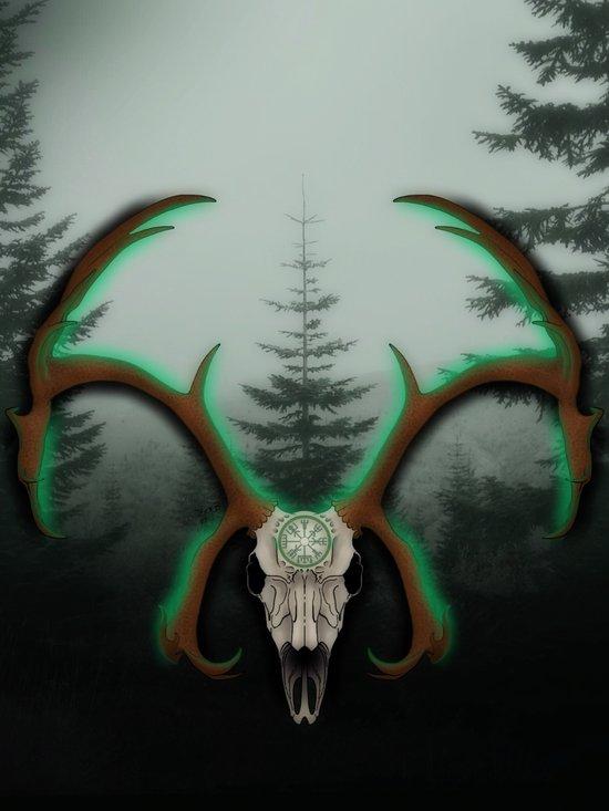 C-1 Horns Art Print