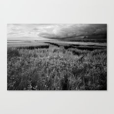 Storm Head Over the Intracoastal Waterway Canvas Print