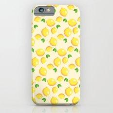 Lemon Pattern iPhone 6 Slim Case