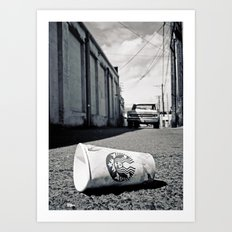 Starbucks dream Art Print