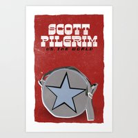 Scott Pilgrim VS The Wor… Art Print