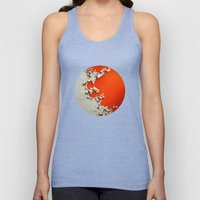 Orange Paper Peel Unisex Tank Top