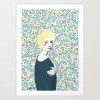 Helena Art Print