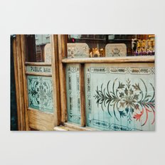 public bar Canvas Print