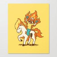 Gotta Burn 'em All !!! Canvas Print