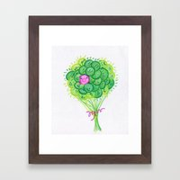 lost Piggy Framed Art Print