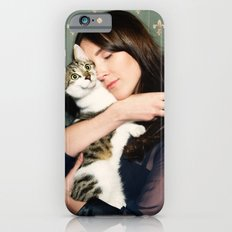 Meow means Woof iPhone 6 Slim Case