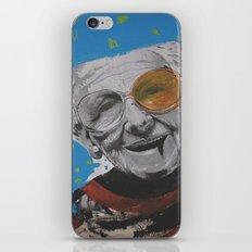 grandmother iPhone & iPod Skin
