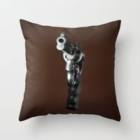 Smith & Wesson 628 Throw Pillow