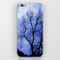 Blue Trees  - JUSTART © iPhone & iPod Skin