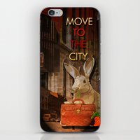 Move to the city iPhone & iPod Skin