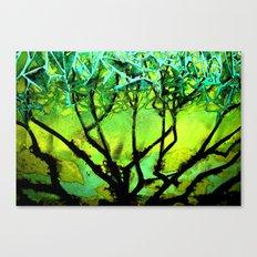 Glass Tree Canvas Print