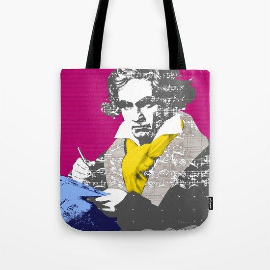 Ludwig van Beethoven 7 Tote Bag