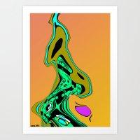 GATEWAY. Art Print