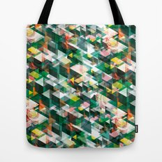 Roses and Triangles Tote Bag