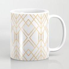 Golden Geo Mug