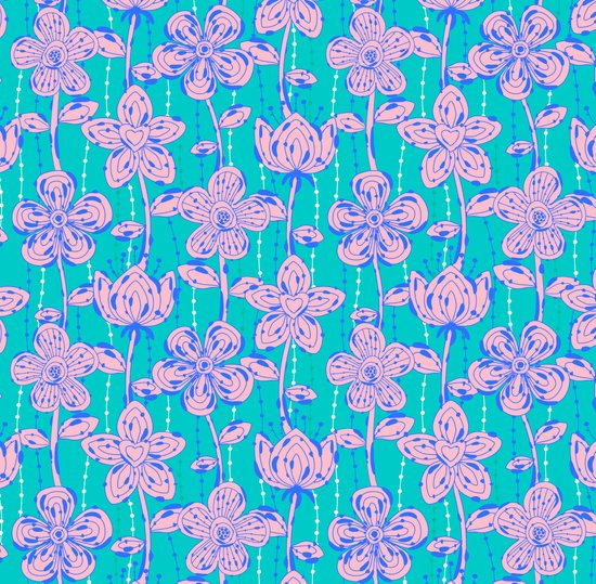 My spotted flowers Art Print