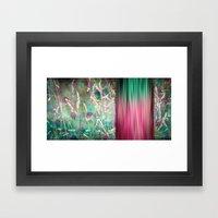 PANO GRASS Framed Art Print