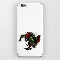 Blanka Rush! - Street Fighter iPhone & iPod Skin