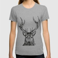 Ole Dear! Womens Fitted Tee Athletic Grey SMALL