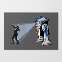 NOS4-R2 (star War Dracul… Canvas Print