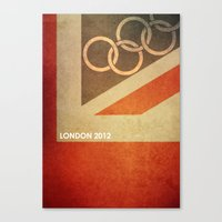 Olympics London 2012 Canvas Print