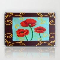 Poppies-4 Laptop & iPad Skin