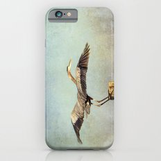 Blue Heron Landing iPhone 6s Slim Case