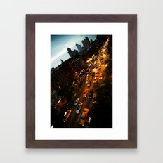 9th Avenue Framed Art Print