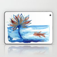 The Lotus and the Goldfish Laptop & iPad Skin