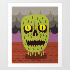 Misery Art Print
