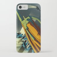 superman iPhone & iPod Cases featuring Superman by Peerro