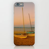 Two Boats at Sunset iPhone 6 Slim Case
