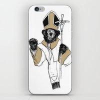 The Bear Pope iPhone & iPod Skin