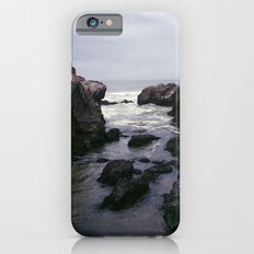 Dark and Rocky Coastline iPhone 6 Slim Case