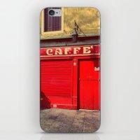 Caffè in Red iPhone & iPod Skin