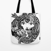 Snakes And Arrows Tote Bag