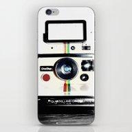 iPhone & iPod Skin featuring Shake It Like A Polaroid… by Rachel Landry