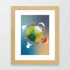 Season Framed Art Print