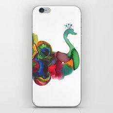 colorful peacocks iPhone & iPod Skin