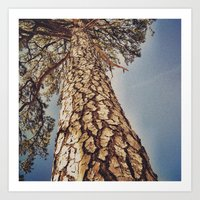 Art Print featuring Tree 3 by Dnzsea