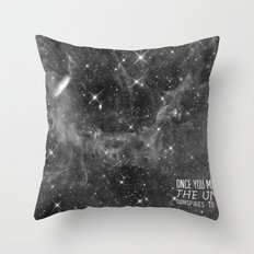 Put yourself out there Throw Pillow