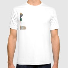 Party Time White Mens Fitted Tee SMALL