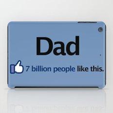I Like Dad iPad Case